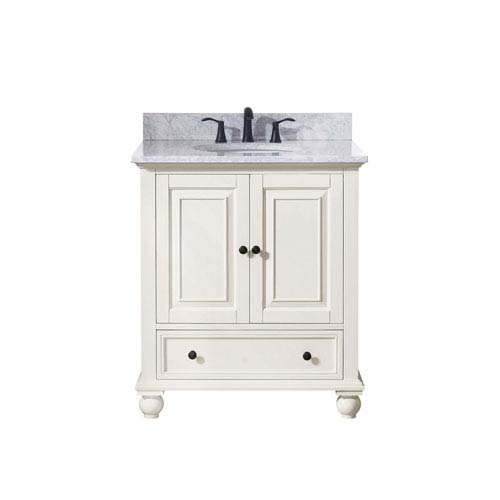 251 First Grace French White 31-Inch Vanity Combo