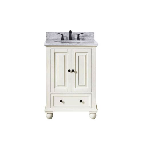 251 First Grace French White 25-Inch Vanity Combo
