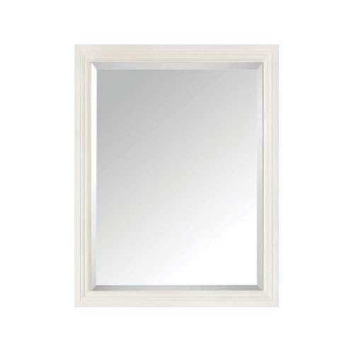Grace French White 24-Inch Mirror