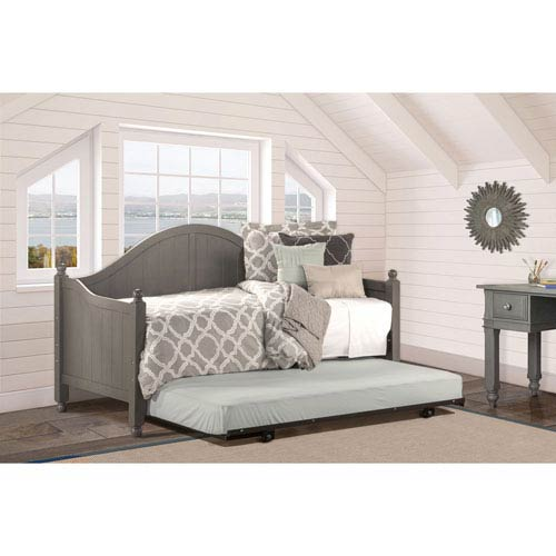 Hayden Stone Daybed with Suspension Deck and Roll Out Trundle