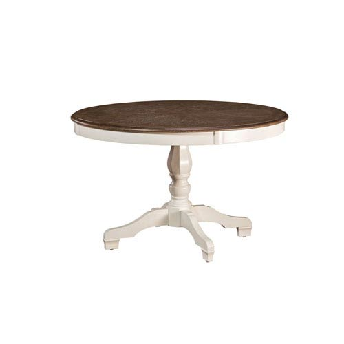 Grace White Round Dining Table