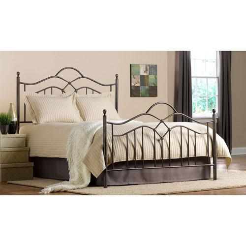 Grace Bronze Queen Complete Bed