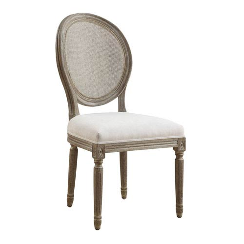 Selby Side Chair-Sand Gray Finish, Set of Two