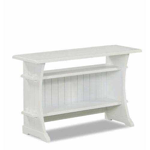 251 First Grace White Sofa Media Table