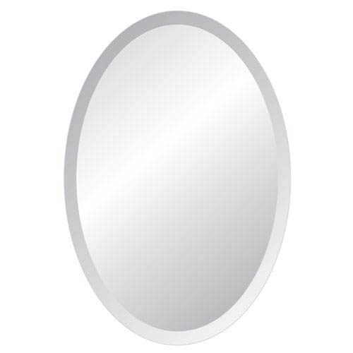Grace 24 x 36 Oval Beveled Edge Mirror