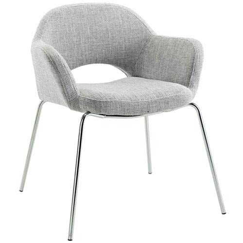 Uptown Dining Chair in Light Gray