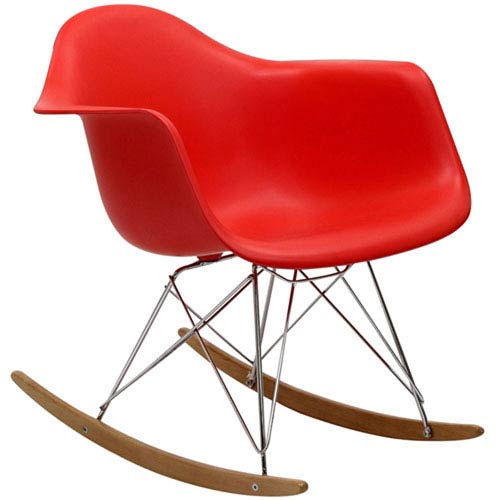 251 First Uptown Rocking Chair in Red