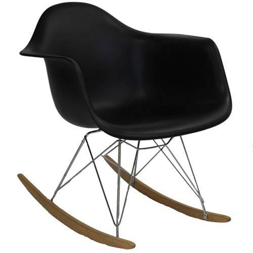 251 First Uptown Rocking Chair in Black
