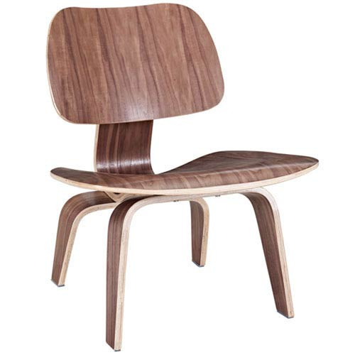 251 First Nicollet Lounge Chair in Walnut