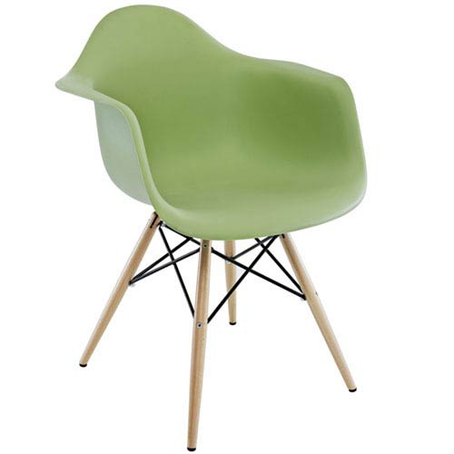 Nicollet Dining Chair in Green