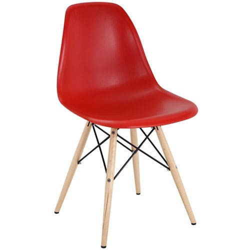 Nicollet Dining Chair in Red