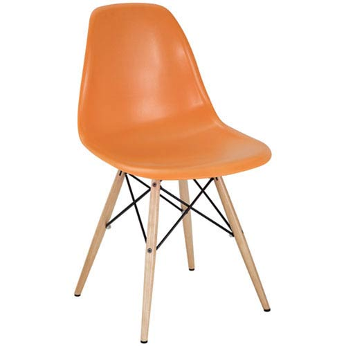 251 First Nicollet Dining Chair in Orange