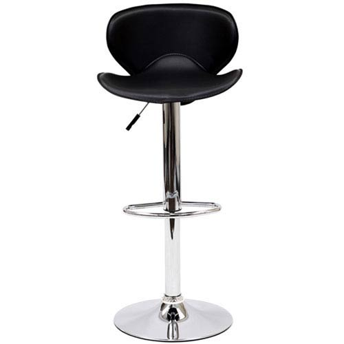 251 First Uptown Bar Stool in Black