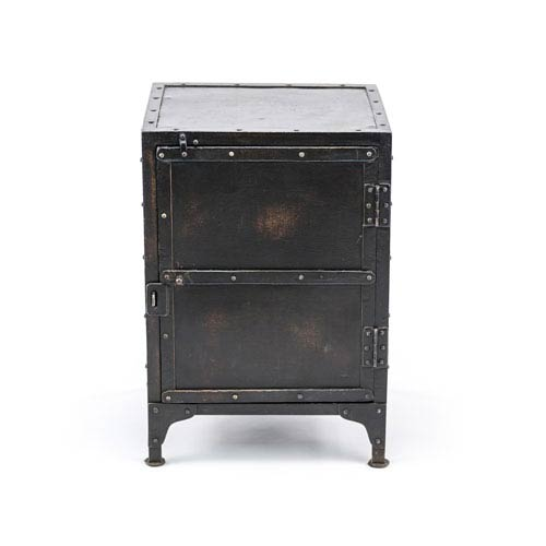251 First Fulton Black Industrial Side Chest