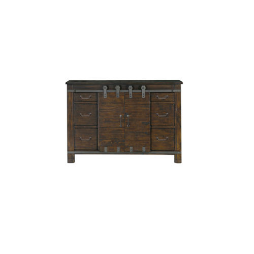 251 First Fulton Rustic Pine Media Chest