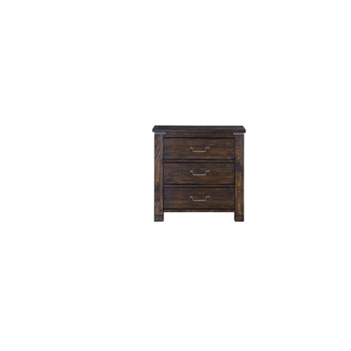 Fulton Rustic Pine Drawer Nightstand