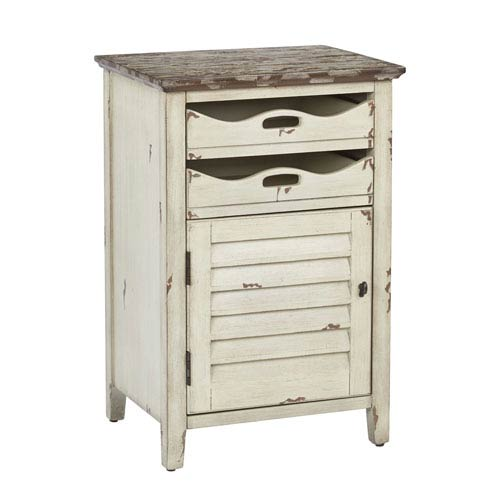 Quinn Ivory Chair Side Table