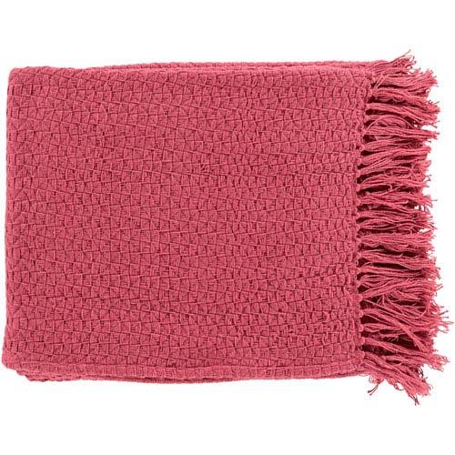 Hayden Bright Pink Throw