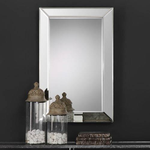 Uptown Rectangular Beveled Mirror
