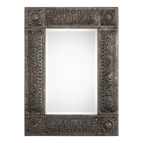 Wellington Rectangular Metal Mirror