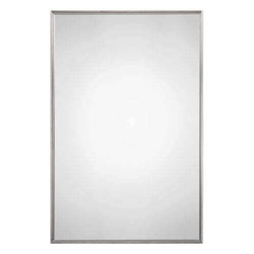 Nicollet Brushed Stainless Steel Mirror