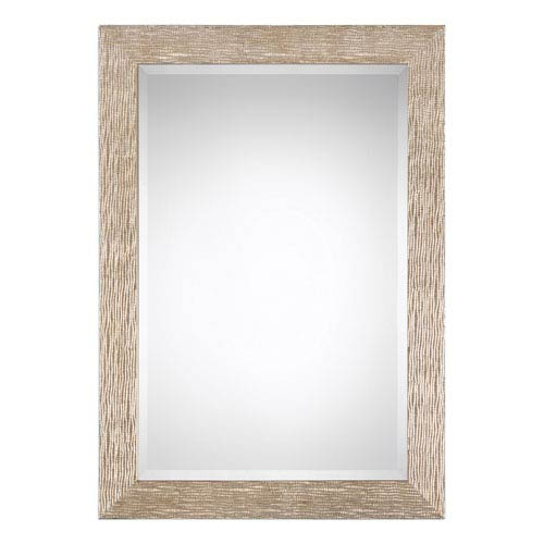 Vivian Gold Champagne Rectangular Mirror