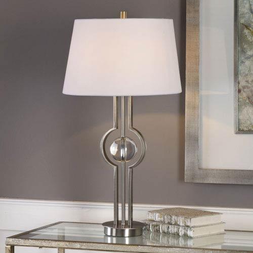 Cooper Brushed Nickel Table Lamp