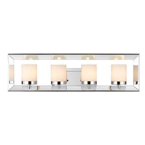 Cooper Chrome Four-Light Bath Vanity