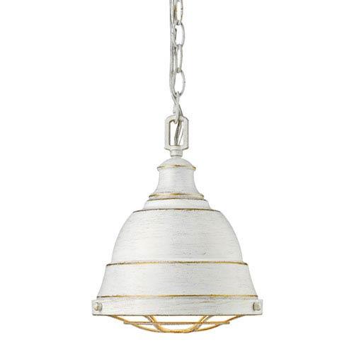 Fulton French White One-Light Mini Pendant