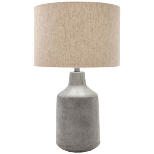 Quinn Gray Table Lamp