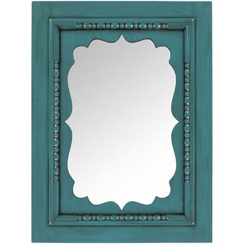 Quinn Teal Mirror