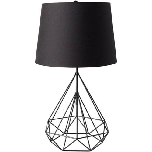 Uptown Black Painted Table Lamp
