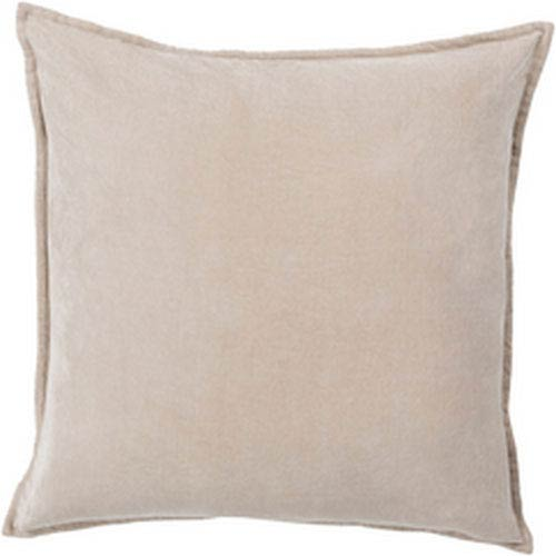 251 First Loring Smooth Velvet Gray 20-Inch Pillow with Poly Fill