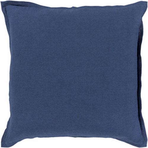 Evelyn Cobalt 20-Inch Pillow with Poly Fill