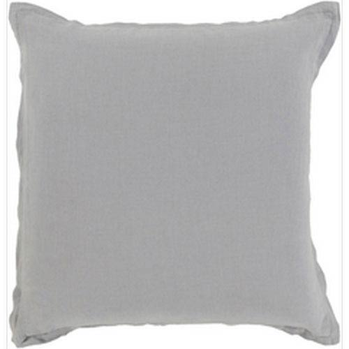 Evelyn Gray 18-Inch Pillow with Poly Fill