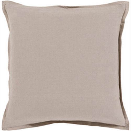251 First Evelyn Gray 18-Inch Pillow with Poly Fill