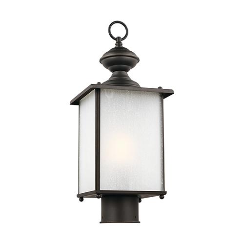 Oxford Antique Bronze Energy Star Seven-Inch One-Light Outdoor Post Lantern