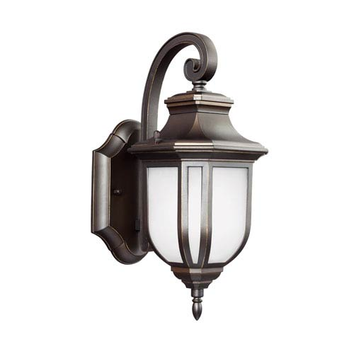 James Antique Bronze 5.5-Inch One-Light Outdoor Wall Sconce