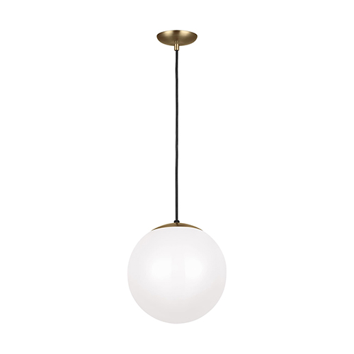 Loring Satin Bronze 12-Inch One-Light Pendant