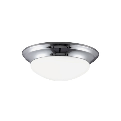 Bryant Chrome Energy Star Three-Light LED Flush Mount