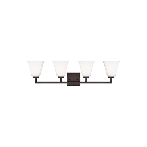 Aster Brushed Oil Rubbed Bronze Four-Light Energy Star Wall Sconce