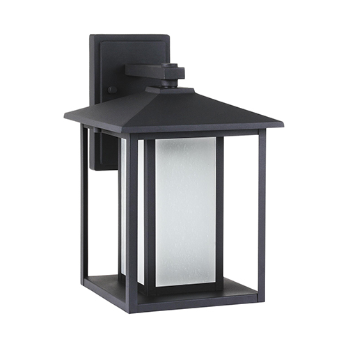 Pax Black Nine-Inch LED Outdoor Wall Sconce