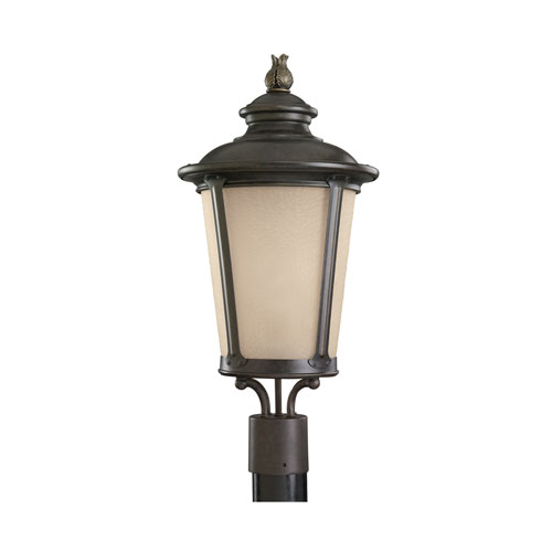 George Burled Iron Energy Star LED Outdoor Post Lantern