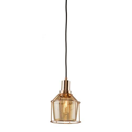 Madison Rose Gold 6-Inch One-Light Mini Pendant