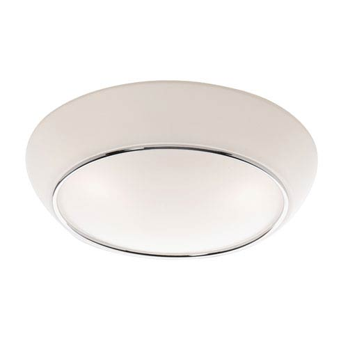 Madison Chrome One-Light Flush Mount