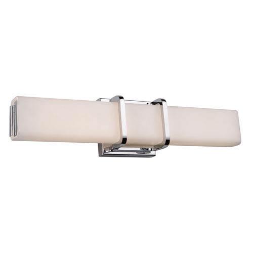 Cora Chrome 19-Inch LED Bath Bar