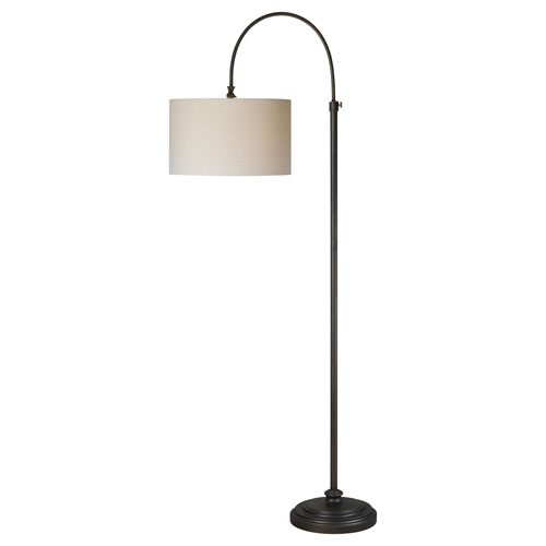 Iris Oil Rubbed Bronze One-Light Floor Lamp