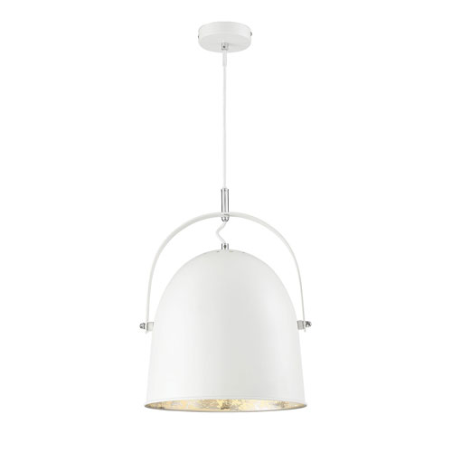 Madison Silver 14-Inch One-Light Pendant