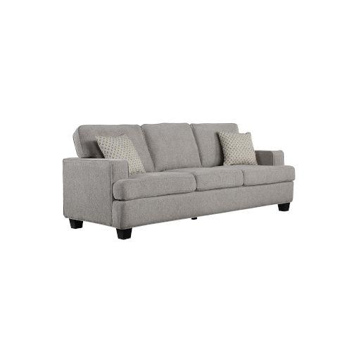 Linden Grey 86-Inch Sofa