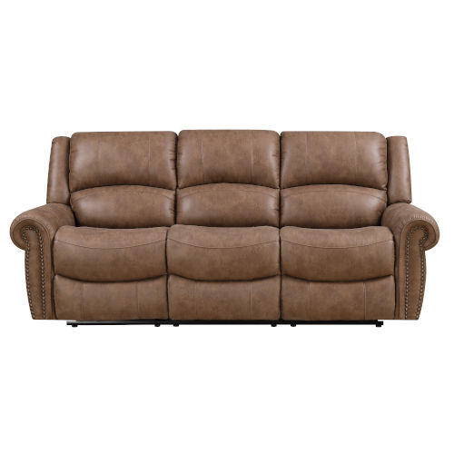 Selby Brown 87-Inch Reclining Sofa